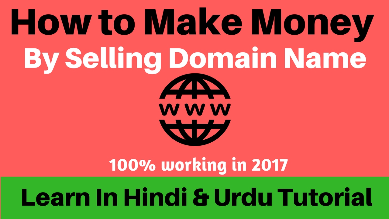 How to make money online buy and selling domain names for How to make money selling t shirts online