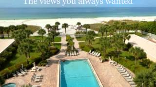 Siesta Key Beach Front Rental With Beautiful Views of the Whole Beach