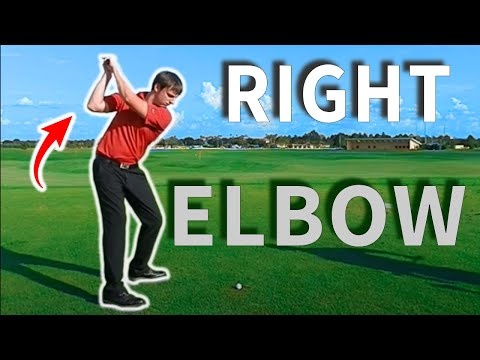Right Elbow In The Golf Swing - By Gravity Golf Instructor A