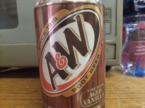 A & W Root Beer Review