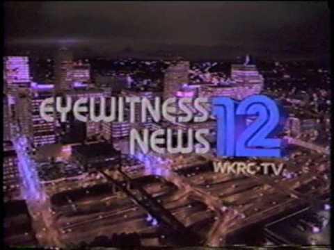 WKRC 12 NEWS - CINCINATTI, OHIO - 1987