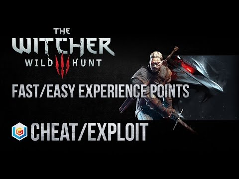 The Witcher 3 Wild Hunt Fast/Easy Experience Points Cheat/Exploit - Lvl 5-15 (Xbox One/PS4/PC)