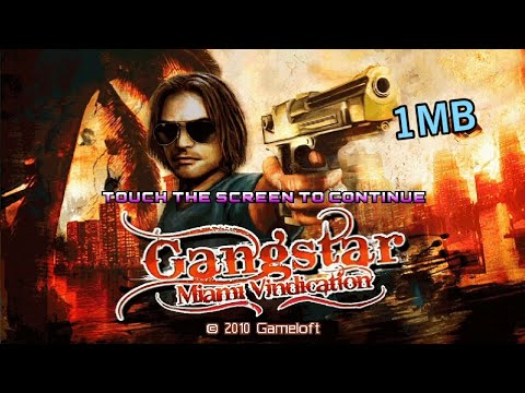 How to download Gangstar Miami Vindication Java Game in Android by Tech  Shakib