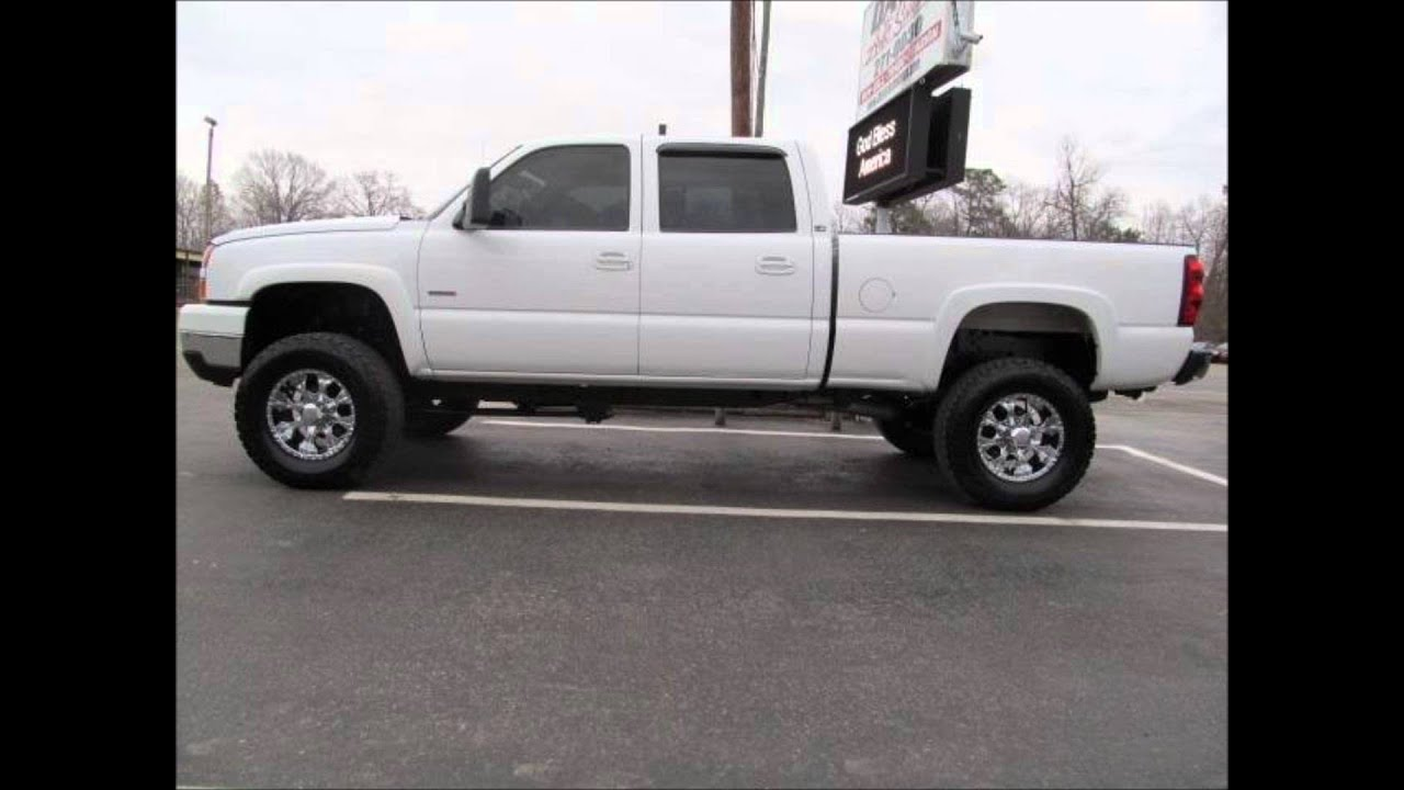 Truck chevy 2500hd trucks : 2005 Chevy Silverado 2500 Diesel Lifted Truck For Sale - YouTube