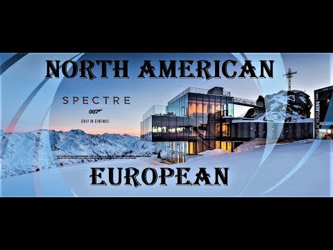North American Vs European Ski Resorts, 3 Things You Will LOVE And HATE