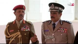 نقل مباشر لمراسم استقبال جلالة السلطان المعظم لفخامة الرئيس الإيراني