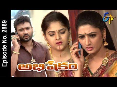 Abhishekam | 20th April 2018 | Full Episode No 2889 | ETV Telugu