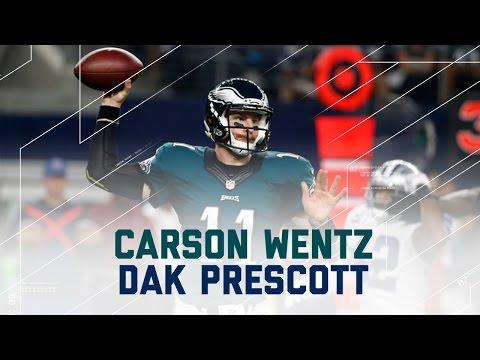 Carson Wentz & Dak Prescott Mash-Up! | Eagles vs. Cowboys | NFL Week 8 Player Highlights