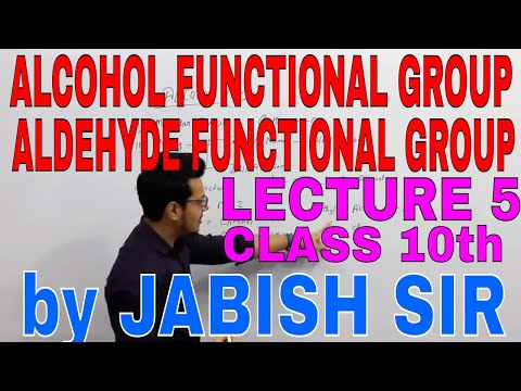 functional-group-alcohol-and-aldehyde-lectures-5-class-10th-hindi-by-jabish-sir-at-education-hub