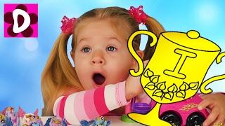Выиграли ПРИЗ Пони Filly Stars Игрушки Май Литл Пони Видео для Детей Игры для Девочек My Little Pony