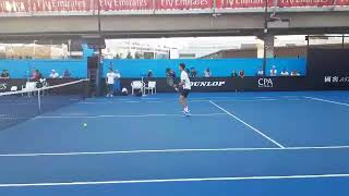 Trening Novaka Đokovića u Melburnu