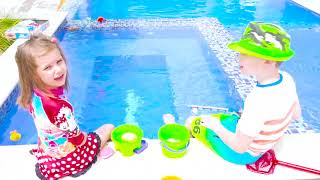 Max and Katy Fishing toys