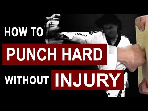 How to Punch Hard without Injury | Taekwondo tutorial  (TaekwonWoo)