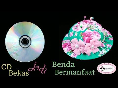 DIY Tutorial    Ide Kreatif Menyulap CD Bekas jadi Benda Bermanfaat
