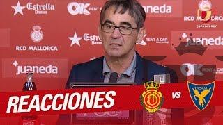 Rueda de prensa de Fernando Vázquez RCD Mallorca vs UCAM Murcia (1-2)