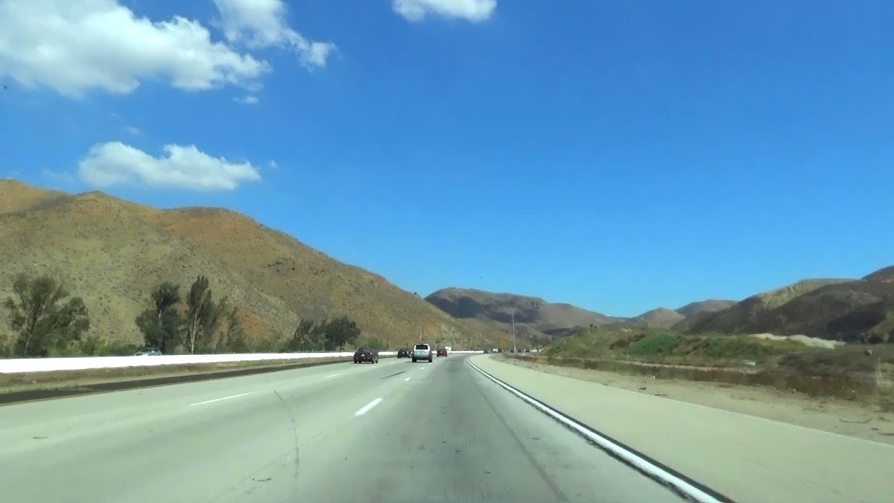 I-15, South, in Riverside County, California, from Corona to Temecula