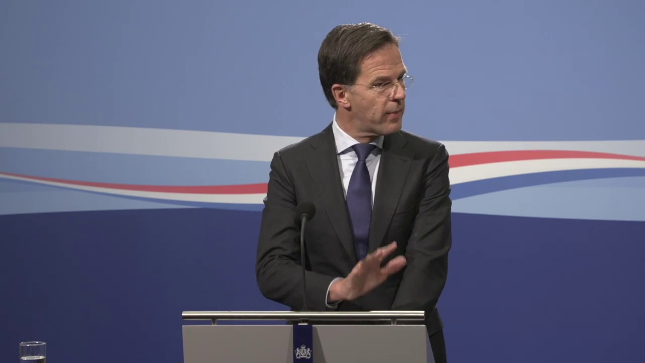 Integrale Persconferentie Van MP Rutte Van 9 April 2020