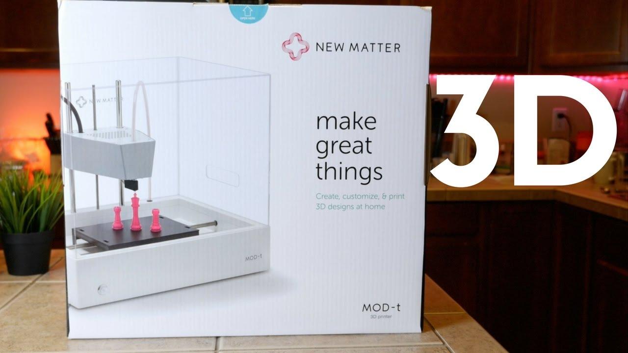 New Matter Mod T 3d Printer >> New Matter Mod T 3d Printer Review The Best 3d Printer Youtube