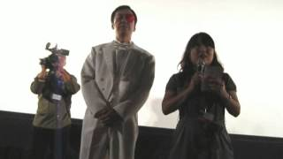Actor and director ITSUJI ITAO presenting his movie GEKKO NO KAMEN ...