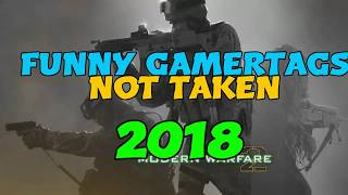 Funny Gamertags Not Taken 2018! XBOX/PlayStation