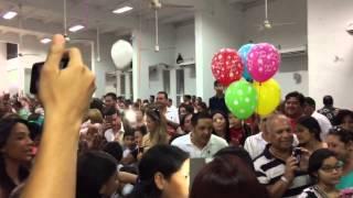 Llegada II Retiro EMAUS Niños parroquia Cristo Rey Crespo y
