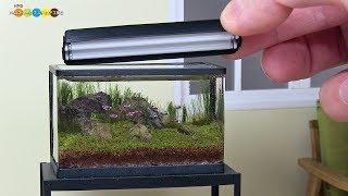 DIY Miniature Aquarium Fish Tank ミニチュアアクアリウム水槽作り
