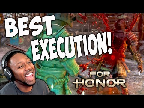 For Honor Best New Executions - Orochi The Demon King [Season 8 Marching Fire]