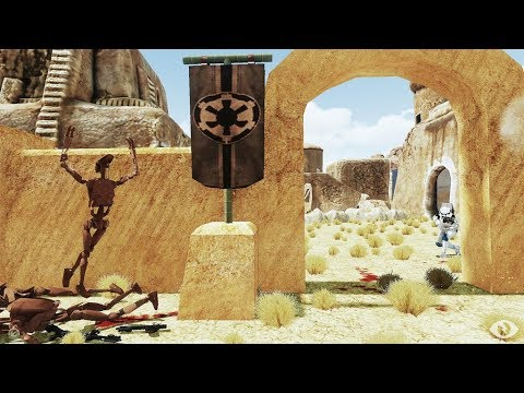 "Arma 3 Star Wars Livestream ""FUBAR Tatooine Mission then HIDE N' VADER!"