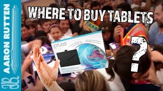 Where To Buy Drawing Tablets for Digital Art (2017)