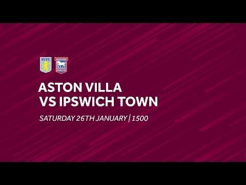 Aston Villa 2-1 Ipswich Town | Extended highlights