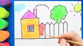 видео Как рисовать дома
