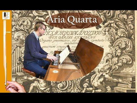 J.Pachelbel: Aria Quarta - Hexachordum Apollinis: Wim Winters, clavichord