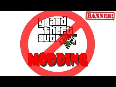 GTA V MODDING IS NOW ILLEGAL openIV banned | Take Two Declares GTA V Modding Illegal and Bans OpenIV