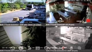 Hikvision iVMS-4500 Live View Demo