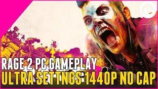 Rage 2 PC Gameplay Short - Ultra Settings FPS Cap 1440p