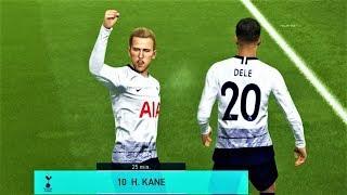 TOTTENHAM VS LIVERPOOL   Kane 2 Goals & Full Match 2018   PES 2018 Gameplay HD