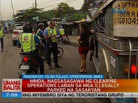 MMDA, nagsasagawa ng clearing operations laban sa mga illegally parked na sasakyan