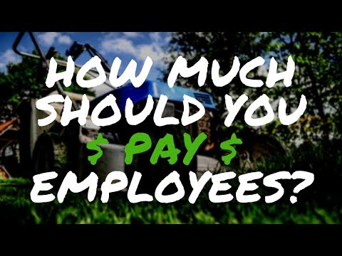 How Much Should You Pay Your Lawn Care Workers and Employees