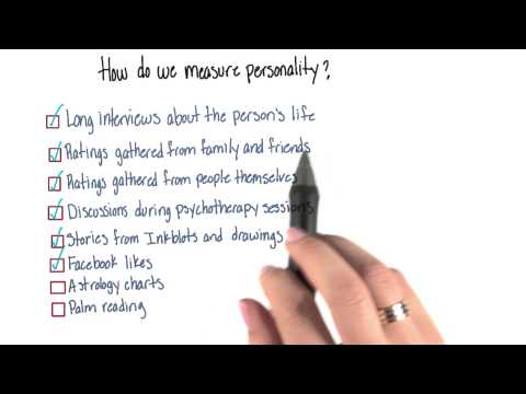 How do we measure personality - Intro to Psychology