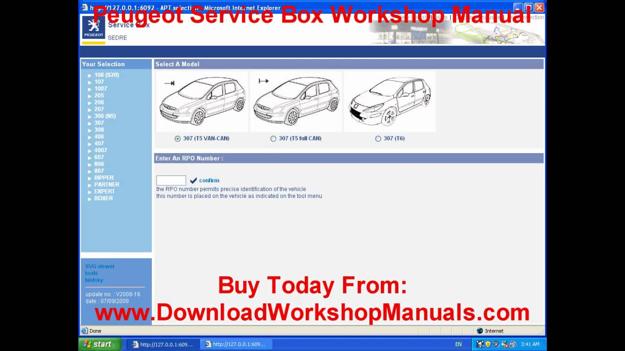 peugeot workshop manual youtube rh youtube com Review Peugeot 308 Allure SW Peugeot 308 SW Luggage Capacity