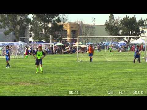 Riverside Locomotion Bu-14 Game 1 2014  Hollywood vs. Sherman Oaks United