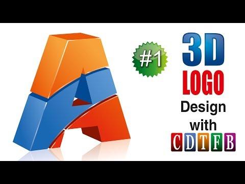 Download How To Make 3d Logo Design In Coreldraw In Urdu