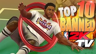 "NBA 2K17 TOP 10 ""BANNED"" From 2KTV Plays Of The Week!"