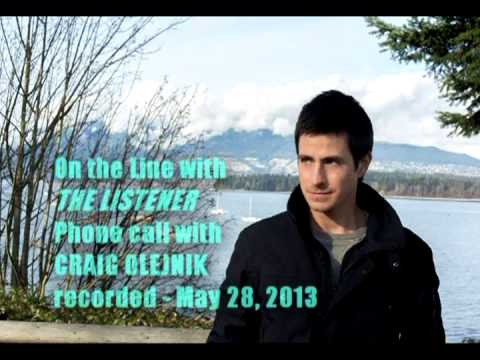 CRAIG OLEJNIK   On The Line With The Listener for Season 4