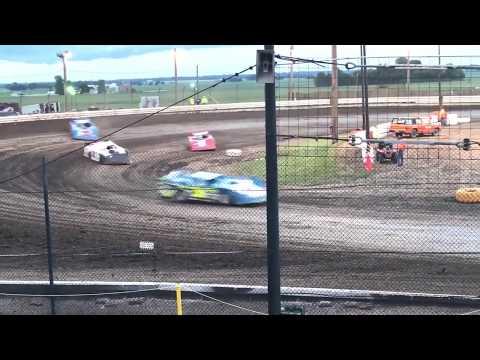 Sycamore Speedway Latemodel (heat race #2) 6-25-17