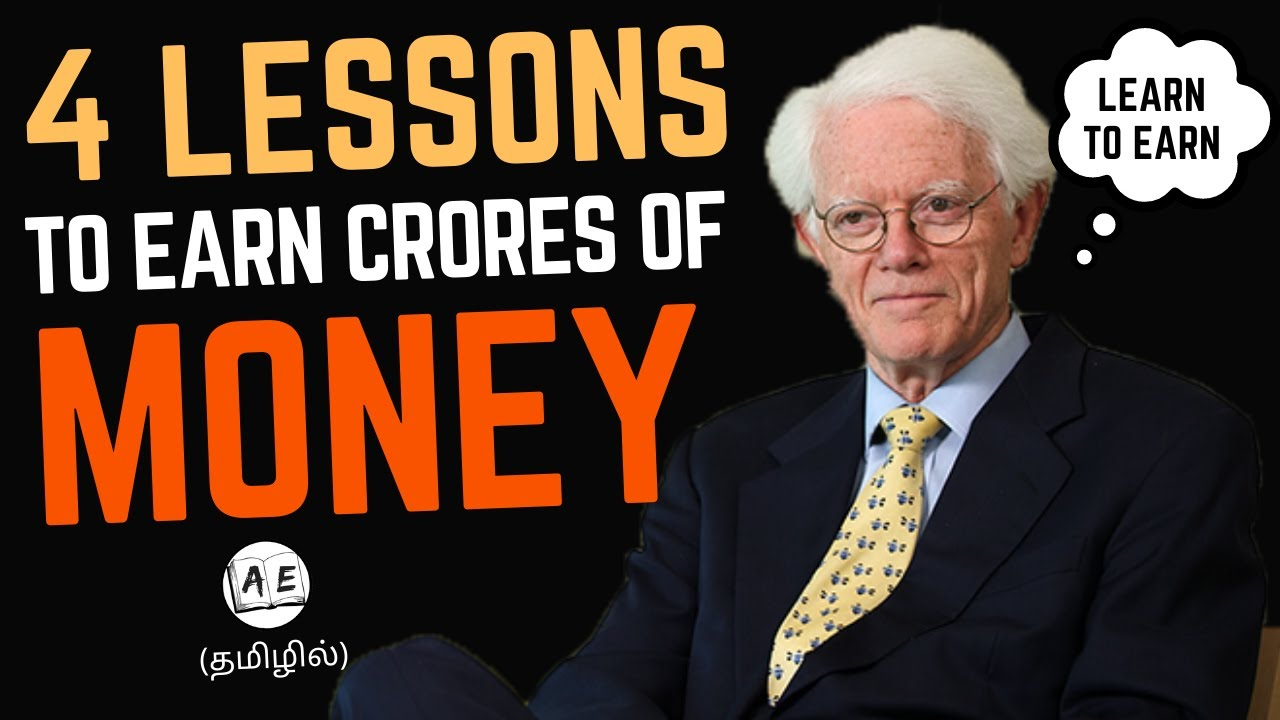 4 Lessons about Money in Tamil | Learn To Earn By Peter Lynch | Finance Friday 26 |almost everything