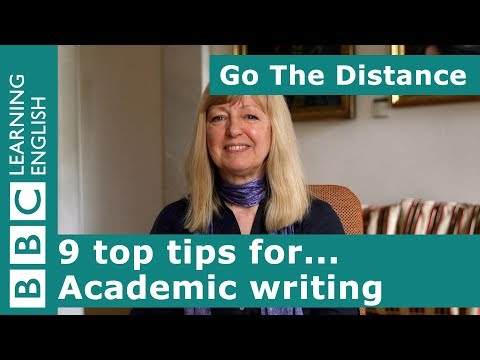 Academic Insights – 9 top tips for... academic writing