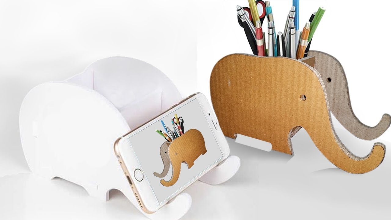 wooden holder pin stand iphone wood desk for