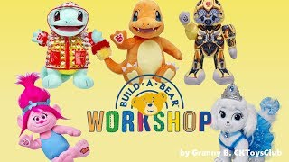 Visit a Build a Bear Workshop with Granny B. From Star Wars to My Little Pony characters.