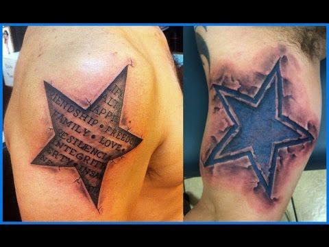Los Mejores Tatuajes De Estrellas Youtube